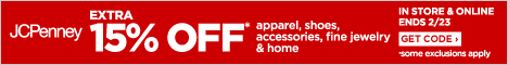 JCPenney FlexOffers promotional banner sale discount
