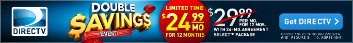 DIRECTV, LLC FlexOffers.com affiliate program marketing sales promotional banner