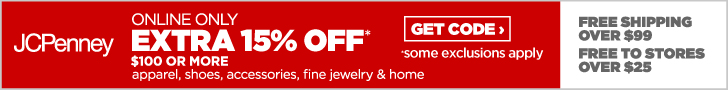 FlexOffers.com JCPenney affiliate marketing sales promotional banner