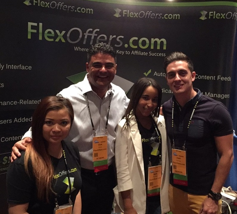 FlexOffers.com affiliate marketing conventions summit west 2015