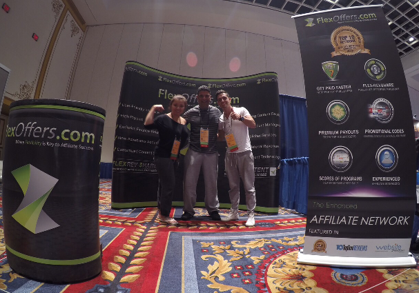 FlexOffers.com affiliate marketing convention Paris Las Vegas 2015
