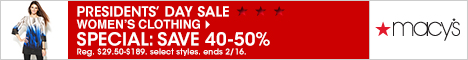 Macy's FlexOffers.com affiliate marketing sales promotional discount banner deals blog President's Day