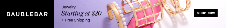 BaubleBar.com FlexOffers.com affiliate marketing sales promotional discount banner savings deals blog prom