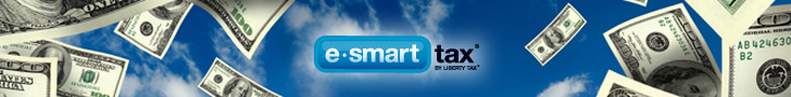 eSmart Tax FlexOffers.com affiliate marketing sales promotional discount banner sales deals savings blog tax day