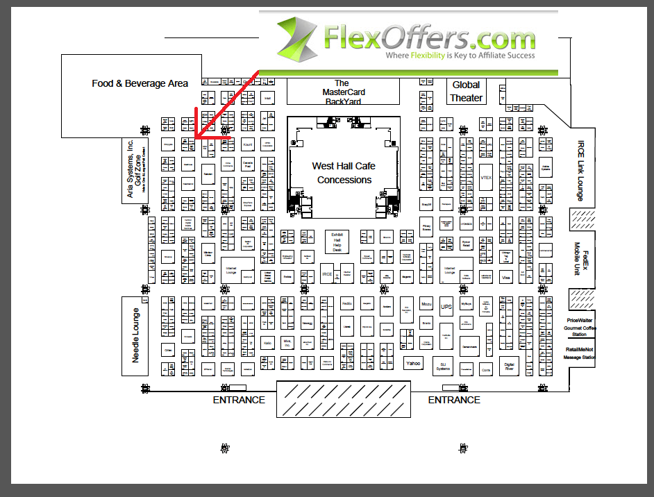 FlexOffers.com affiliate marketing sales promotional discount banner savings deals blog IRCE 2015 Chicago Internet Retailer Conference Exhibition