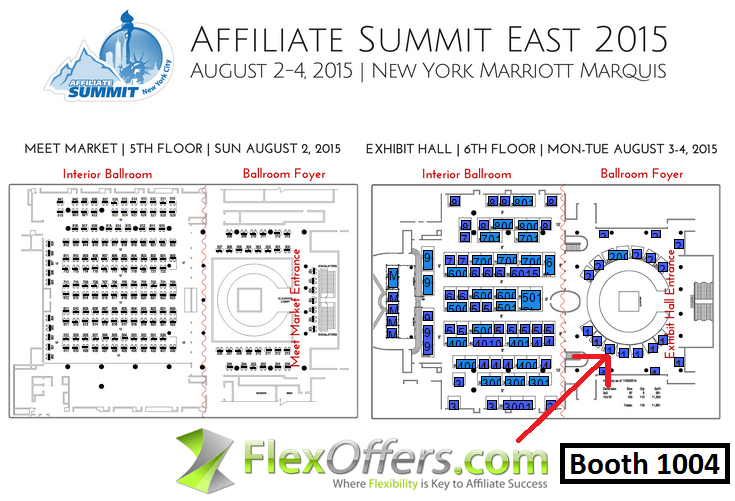2015, affiliate, affiliate marketing, Affiliate Summit East 2015, ASE, ASE15, ASE2015, banner, blog, convention, Deals, Discount, FlexOffers.com, marketing, New York, NYC, promotional, sales, Savings