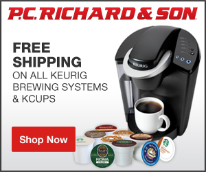 FlexOffers.com, affiliate, marketing, sales, promotional, discount, savings, deals, blog, PC Richard & Sons, PC Richard, appliances, housewares, kitchenware, kitchen, computers, laptops, desktops, tablets, tech, HDTVs, audio, headphones, video games, PlayStation 4, PS4, Xbox One, Wii U, Keurig, refrigerators, washer, dryer, home theater, mattresses, bedding
