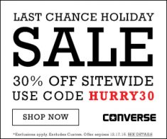 FlexOffers.com, affiliate, marketing, sales, promotional, discount, savings, deals, blog, Converse, shoes, sneakers, Chuck Taylor, apparel, holiday, shopping, gift, gift guide, winter, Christmas, Hanukkah, Festivus