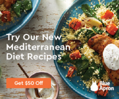 FlexOffers.com, affiliate, marketing, sales, promotional, discount, savings, deals, bargain, banner, blog, Blue Apron – Turning Dinner Tragedies into Triumphs, Blue Apron, food, cooking, food prep, home delivery, meal plan, family, dating, budget-friendly