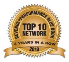 FlexOffers.com, affiliate, marketing, sales, promotional, discount, savings, deals, banner, blog, mThink, Blue Book, survey, Performance and Marketing, 2018, Top 10, Four Years Strong!, Top 10 Four Years Strong!, FlexOffers.com Climbs mThink Blue Book 2018 Survey Rankings