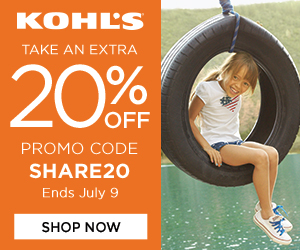 FlexOffers.com, affiliate, marketing, sales, promotional, discount, savings, deals, bargain, banner, blog, Fourth of July Coupons at Kohl's, Kohl's, Kohls.com, Kohl's Department Stores Inc, clothing, apparel, fashion, décor, picnic, party, bbq, barbecue, 4th of July, Fourth of July, July 4th, Independence Day, summer