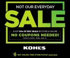 FlexOffers.com, affiliate, marketing, sales, promotional, discount, savings, deals, bargain, banner, blog, Kohl's Summer of Savings, Kohl's, Kohls.com, Kohl's Department Stores Inc, clothing, apparel, fashion, décor, picnic, party, bbq, barbecue, 4th of July, Fourth of July, July 4th, Independence Day, summer