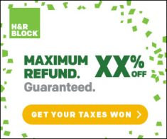 FlexOffers.com, affiliate, marketing, sales, promotional, discount, savings, deals, bargain, banner, blog, Tax Day 2018 Savings, H&R Block, TaxAct, TaxSlayer, The Neat Company, Finhabits, InterContinental Hotels Group, tax, tax prep, tax day, tax season, retirement, savings, IHG, travel, hotels