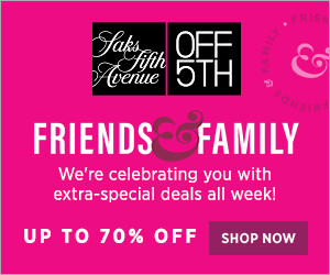 FlexOffers.com, affiliate, marketing, sales, promotional, discount, savings, deals, bargain, banner, blog, Saks Off 5th Friends & Family Sale, Saks Off 5th, spring, makeover, fashion, clothing, apparel, designer, home goods, décor, beauty, fragrance, cosmetics, department store