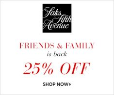 FlexOffers.com, affiliate, marketing, sales, promotional, discount, savings, deals, bargain, banner, blog Saks Fifth Avenue Friends & Family Deals, Saks Fifth Avenue, spring, makeover, fashion, clothing, apparel, designer, home goods, décor, beauty, fragrance, cosmetics, department store