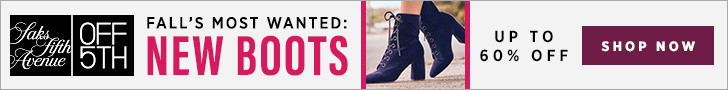 FlexOffers.com, affiliate, marketing, sales, promotional, discount, savings, deals, bargain, banner, blog, Saks Off 5th Fall's Most Wanted Sale, Saks Off 5th, clothing, fashion, apparel, designer, fall