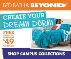FlexOffers.com, affiliate, marketing, sales, promotional, discount, savings, deals, bargain, banner, blog, Comforting Dorm Décor Discounts for College Students, college, campus, Bed Bath & Beyond, JCPenney, Wal-Mart.com US, Society6, Shelving, Inc., Dormify,