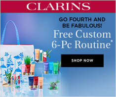 FlexOffers.com, affiliate, marketing, sales, promotional, discount, savings, deals, bargain, banner, blog, Clarins USA,