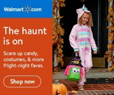 FlexOffers.com, affiliate, marketing, sales, promotional, discount, savings, deals, bargain, Early Halloween Prep Bargains, Wal-Mart.com US, Target, OneTravel.com, PETCO Animal Supplies, The Proactiv Company, costume, Halloween candy, flight, travel, vacation, airfare, party, party goods, skin, skincare, facial wash,