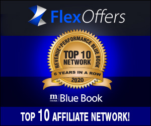mThink, Top 10, savings, sales, promotional, Marketing, affiliate marketing, FlexOffers.com Secures mThink Blue Book 2020 Survey Ranking, FlexOffers.com, Six Years in a Row, discount, deals, Blue Book, blog, 2020, 6x, banner