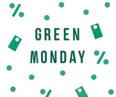 Green Monday, Green Monday Sales, Green Monday Deals, what is Green Monday, sales on green Monday